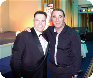 ian and Nigel Mansell OBE
